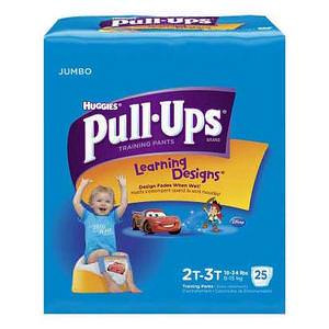 Huggies Pull-Ups Learning Designs Training Pant, for Boy