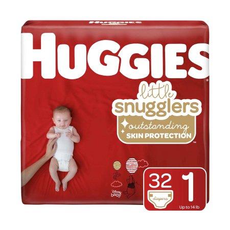 Huggies Little Snugglers Incontinence Diaper, Size 1, Disney Print
