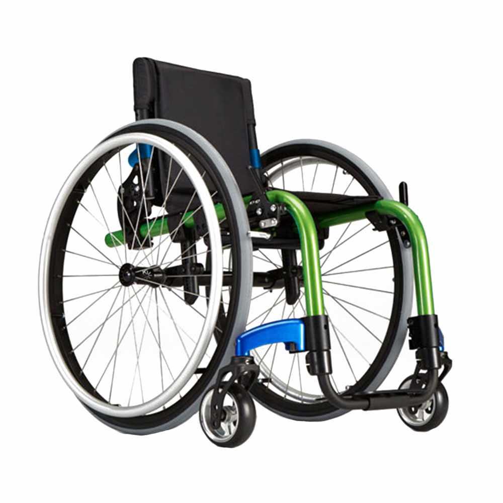 """Ki Mobility Little wave """"Clik"""" pediatric wheelchair"""