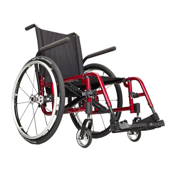 Ki Mobility Catalyst 5TTL ultralight folding manual wheelchair