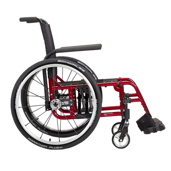 Ki Mobility Catalyst 5TTL ultralight wheelchair