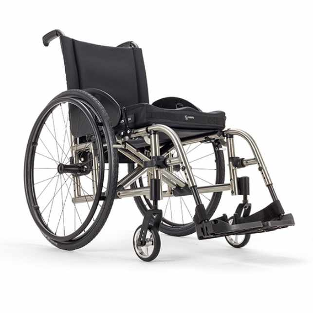 Ki Mobility Catalyst 5Ti ultralight folding manual wheelchair