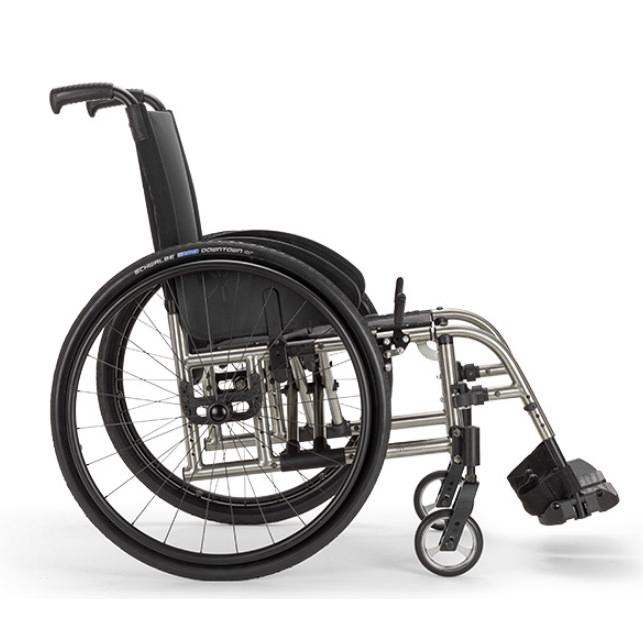 Ki Mobility Catalyst 5Ti folding manual wheelchair