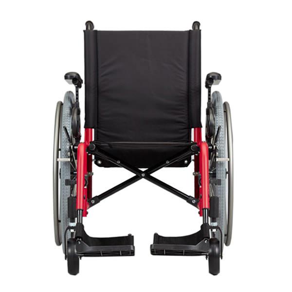 Ki Mobility Catalyst 5Vx ultralight wheelchair front view