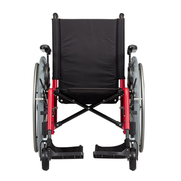 Ki Mobility Catalyst 5Vx ultralight wheelchair front view