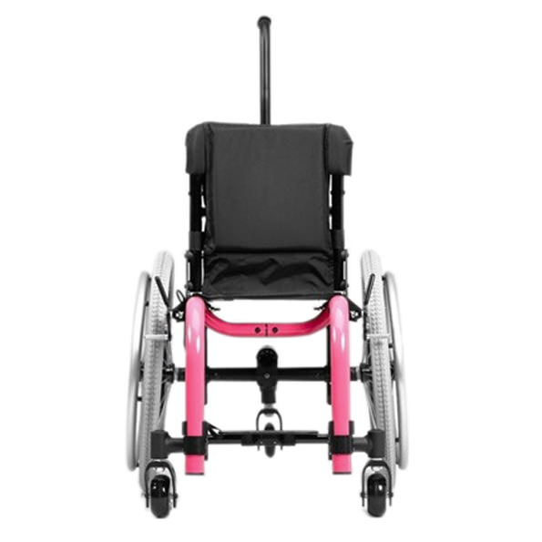 Ki Mobility Little wave XP youth wheelchair front view