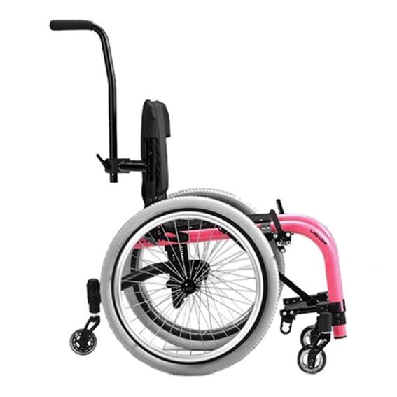Ki Mobility Little wave XP youth wheelchair side view