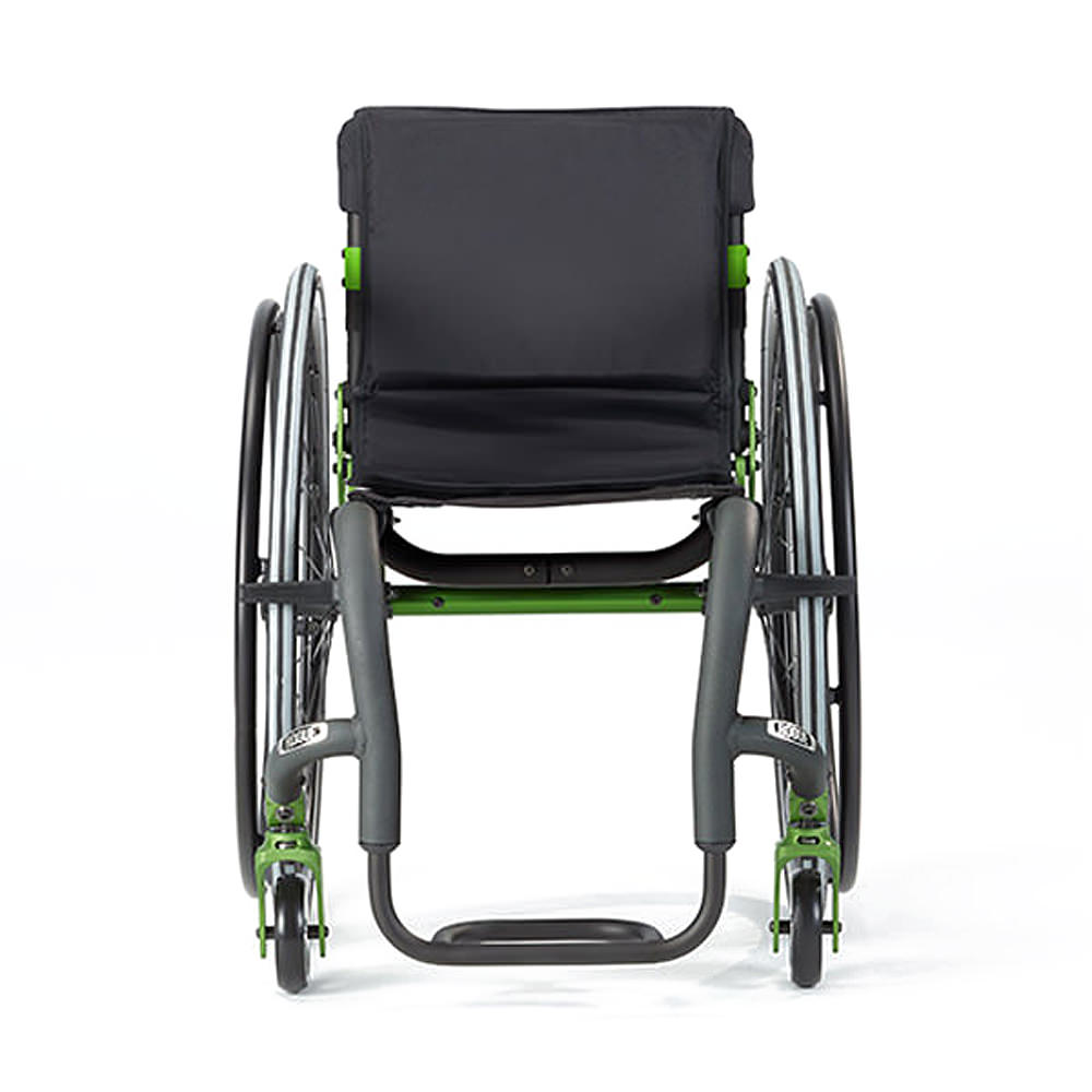 Ki mobility Rogue XP youth wheelchair front view