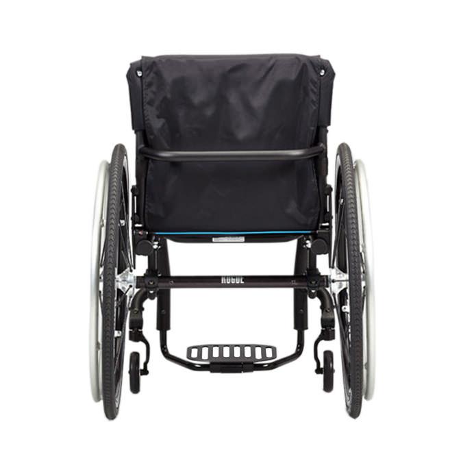 Ki Mobility Rogue ultralight rigid wheelchair back view