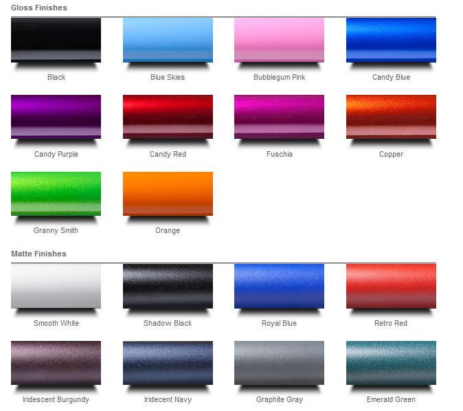 Ki Mobility Rogue ultralight wheelchair color options
