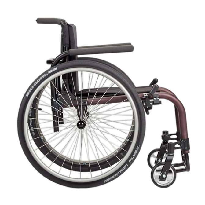 Ki Mobility Tsunami ALX wheelchair side view