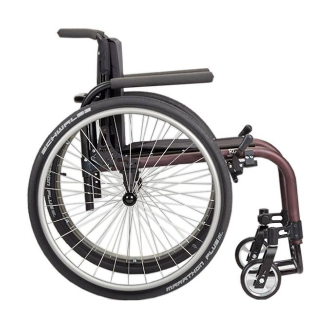 Ki Mobility Tsunami ALX wheelchair side view