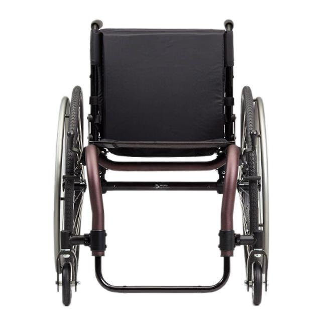 Ki Mobility Tsunami ALX wheelchair front view