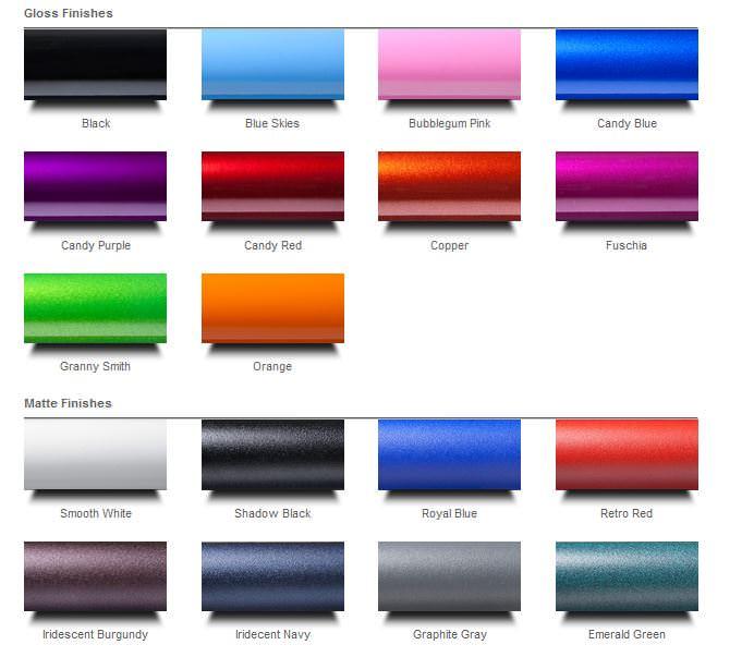 Ki Mobility Tsunami ALX color options