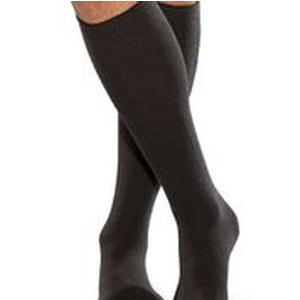 TheraFirm Smartknit Seamless Diabetic Over-the-calf Socks, X-Large, Black