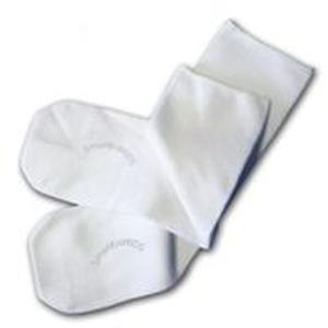 SmartKnitKids Seamless Kids Sock, X-Large, White
