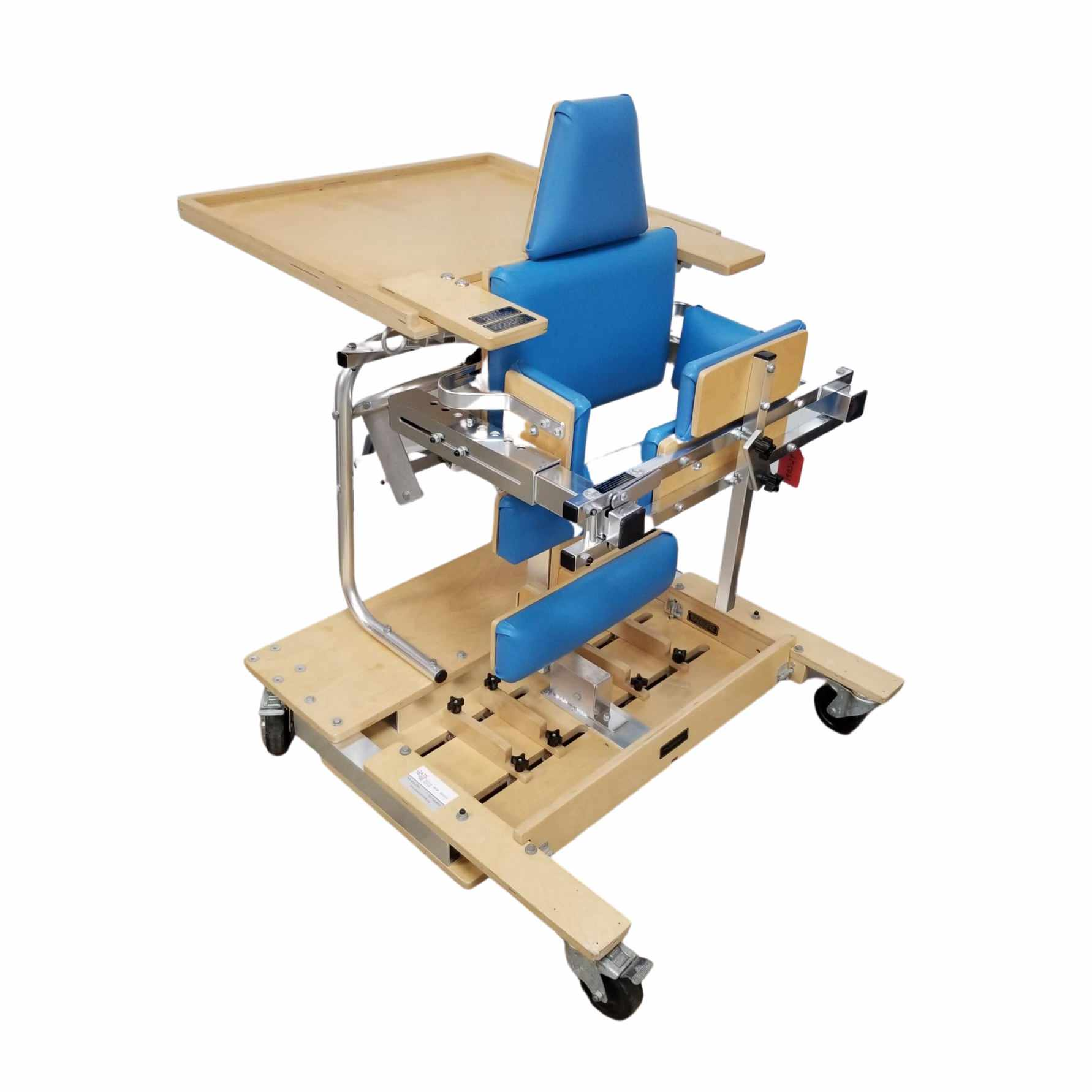 Kaye dynamic stander with tray