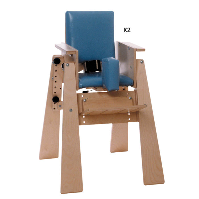 Kaye high kinder chair without tray