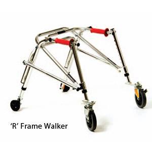 Kaye youth wide posture control R frame walker