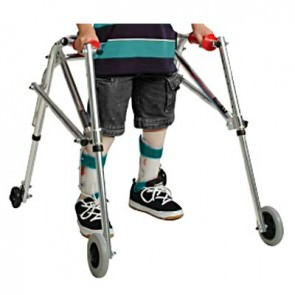 Kaye R frame wide posture control walker for pre-adolescent