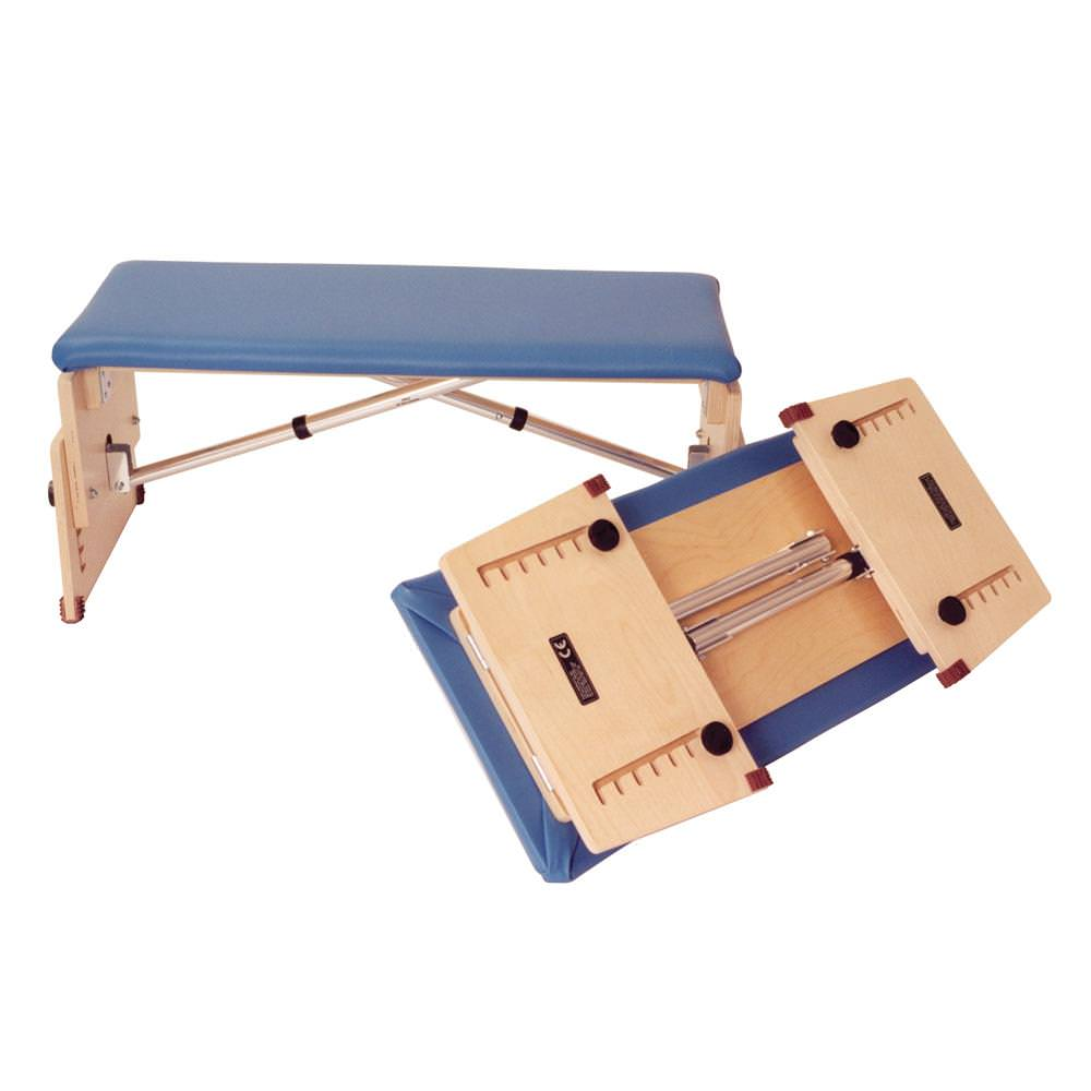 Kaye foldable tilting therapy bench - Small and Large