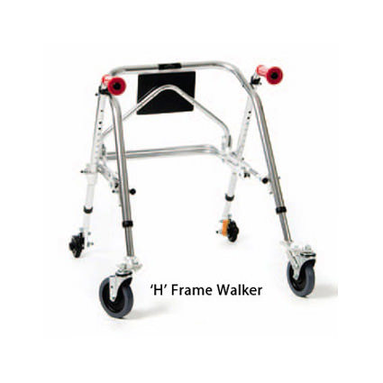 Kaye H frame posturerest walker for small child