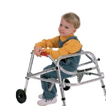Kaye posture control walker for small children