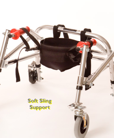 Kaye child posture control walker - Optional soft sling support