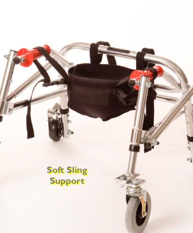 Kaye child posture control walker - Optional soft sling support