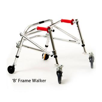 Kaye youth posture control B frame walker