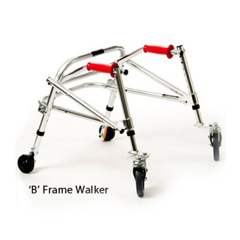Kaye youth posture control B frame walker