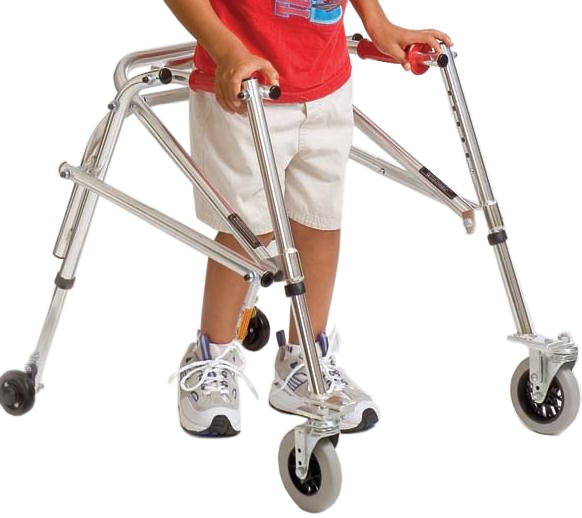 Kaye adolescent B frame posture control walker
