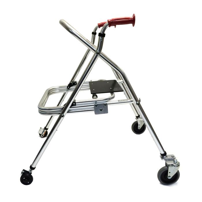 Kaye large posturerest H frame walker with built-in seat