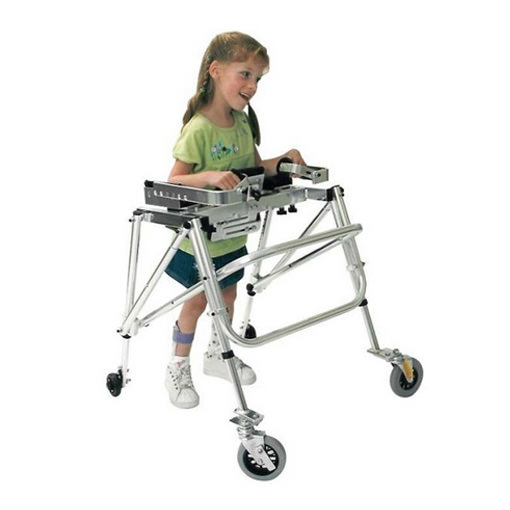 Kaye Y frame anterior support walker for small child