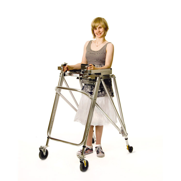 Kaye large anterior support walker - Y frame
