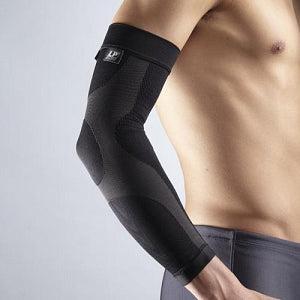 La Pointique Arm Power Compression Sleeve, Large, Black