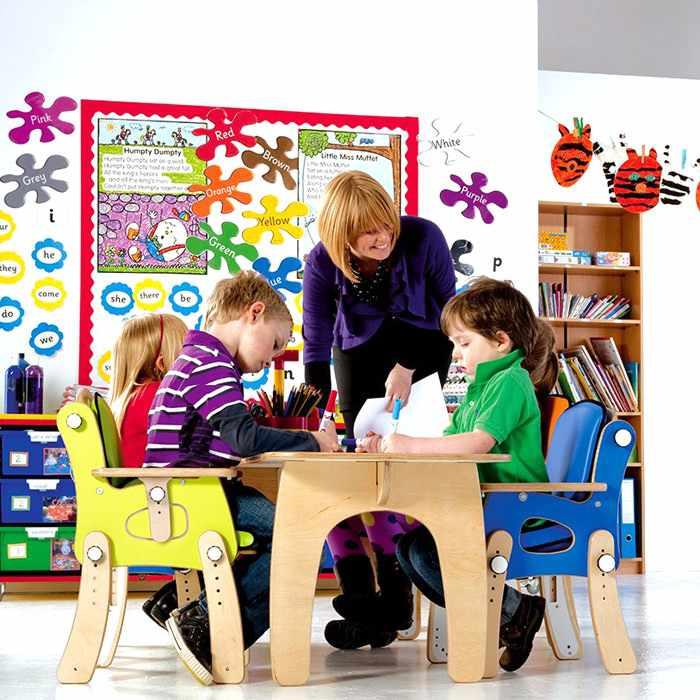 PAL classroom seat