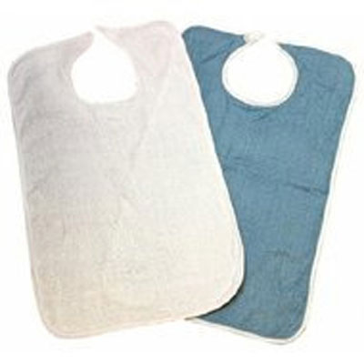 Lew Jan Textile Button Closure Bib 18 x 34 Inch