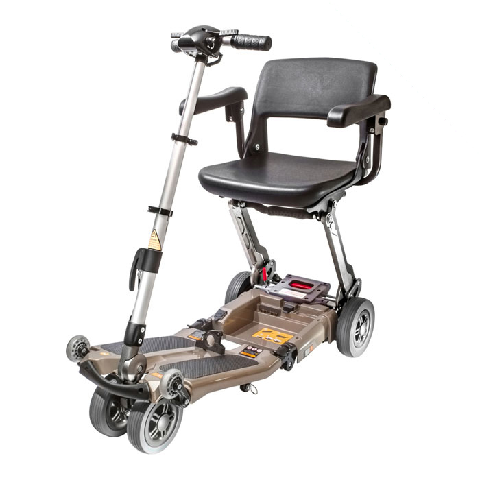 Luggie Deluxe folding scooter