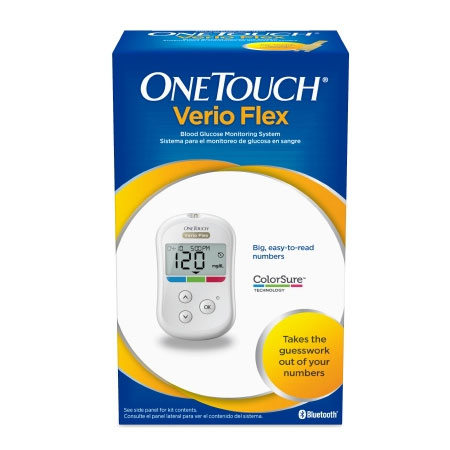 LifeScan One Touch Fingertip Blood Glucose Meter, 5 Second