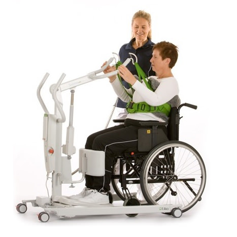Liko Sabina 200 patient lift with power base