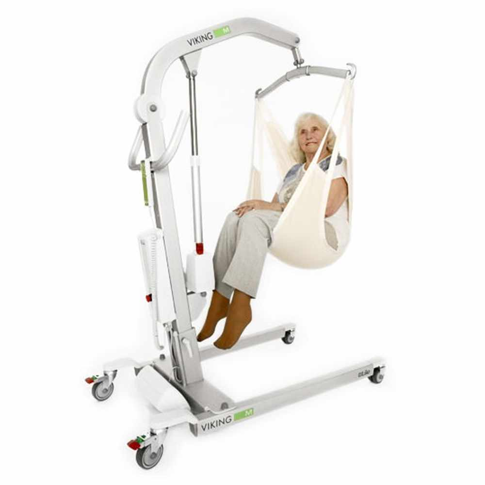 Liko Viking patient lift with client