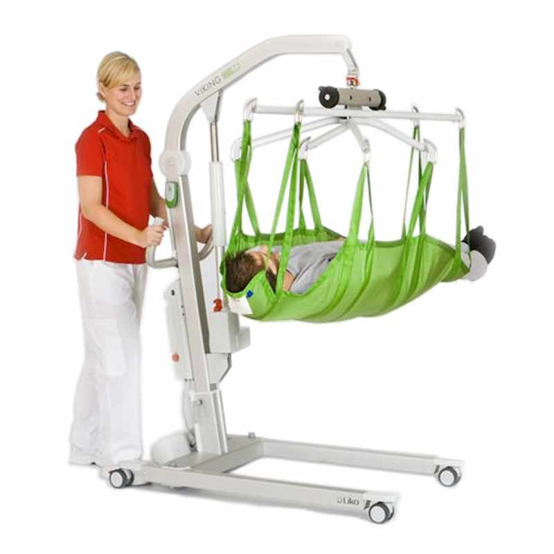 Liko patient lift with power base