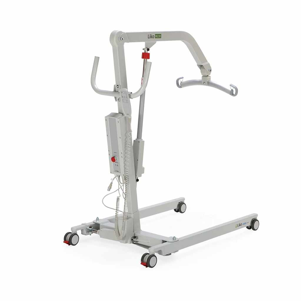 Liko M220 mobile power patient lift with manual base