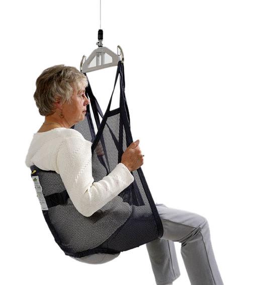 Liko OriginalSling Model 10 - polyester net sling with reinforced leg support