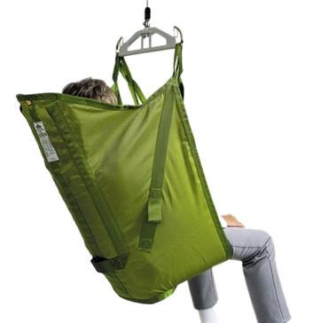 Liko Original HighBack Sling Model 20 - polyester sling with reinforced leg supports