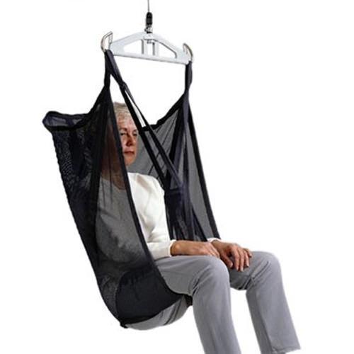 Liko Original HighBack Sling Model 20 - polyester net sling with reinforced leg supports