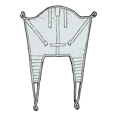 Liko Original HighBack Sling Model 20 - extra small polyester net sling