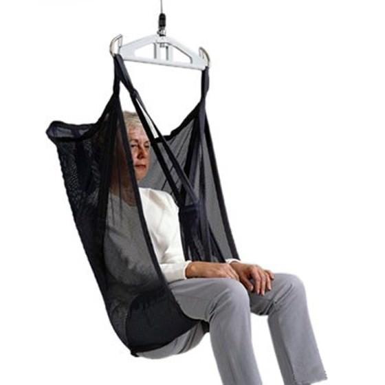 Liko Original highback medium-slim polyester net sling with reinforced leg support model 21