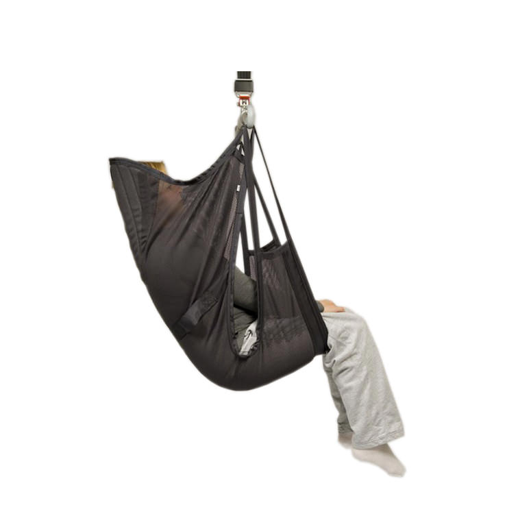 Liko ComfortSling Plus Model 350 - high back net polyester sling with padded seat